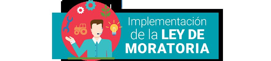 Ley de Moratoria